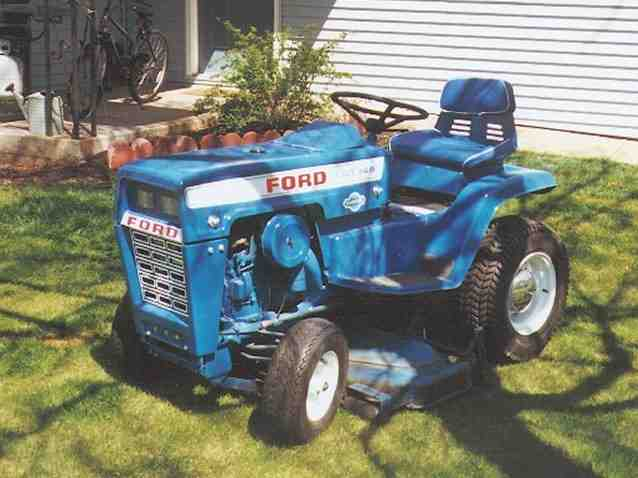 Lawn garden tractors photo ford p2 for Ford garden tractor